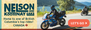 Wyoming VS Nelson Kootenay Lake by Motorcycle